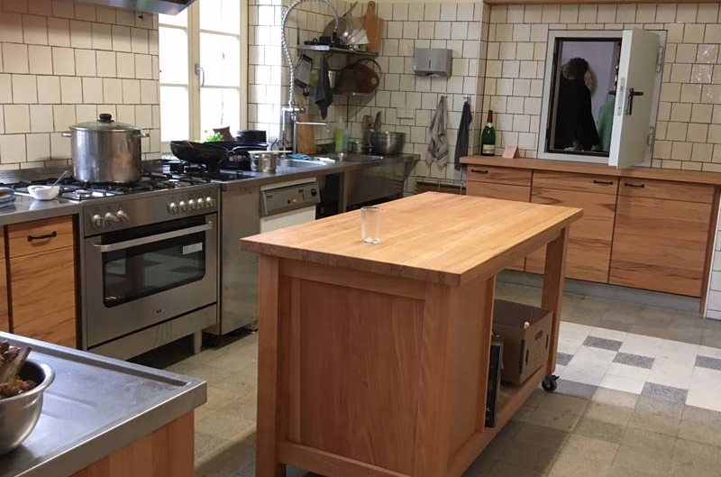 Klein Hundorf -Bau einer Küche und eines Hofladens