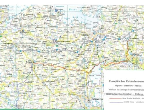 18 Europäischer Zisterzienerweg, Abschnitt Rehna bis Neukloster, 70 km