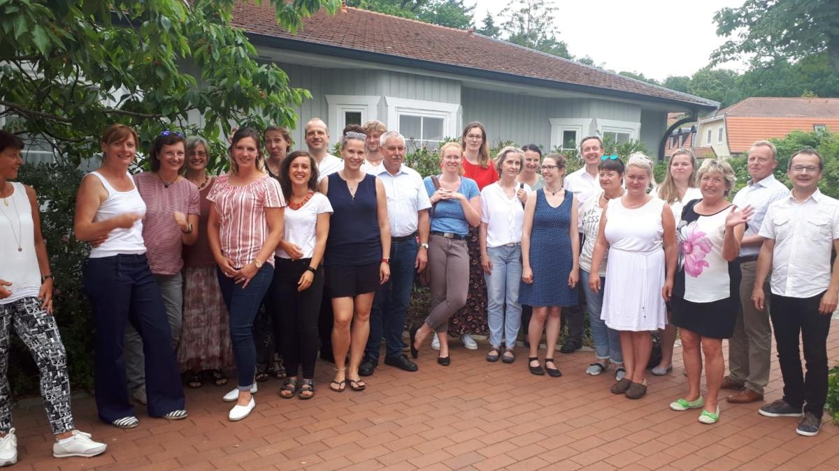 LEADER-Austausch Brandenburg, Gruppenfoto