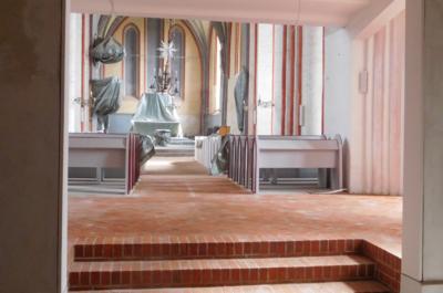 Kirche Wittenburg Innenrenovierung