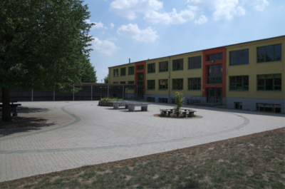 Schlagsdorf Schulhof