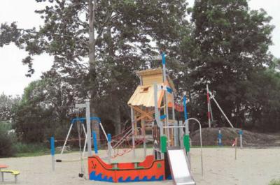 Spielplatz an der KITA Zarrentin