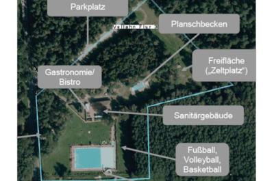 Vellahn Waldbad LEADER-Projekt 2018