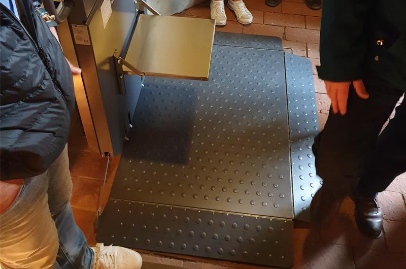 Treppenlift Klosteranlage Zarrentin