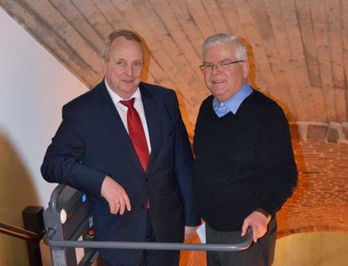 LEADER-Projekt Liftanlage im Kloster Zarrentin: Bauabnahme und Übergabe