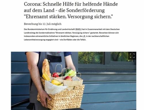 """""""Ehrenamt stärken. Versorgung sichern."""""""
