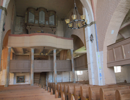 05 Umgestaltung der Gemeinderäume, Restaurierung der Orgel, Beleuchtung