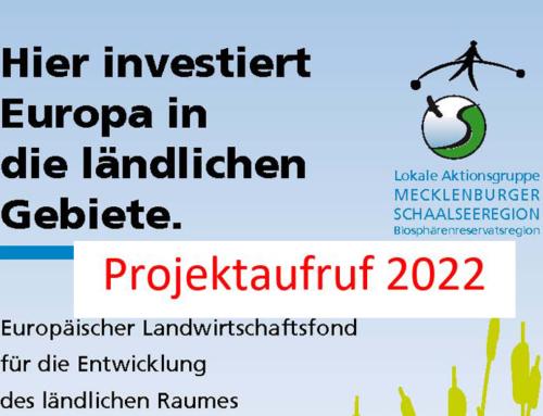 LEADER: Neue Projektideen für 2022 gesucht
