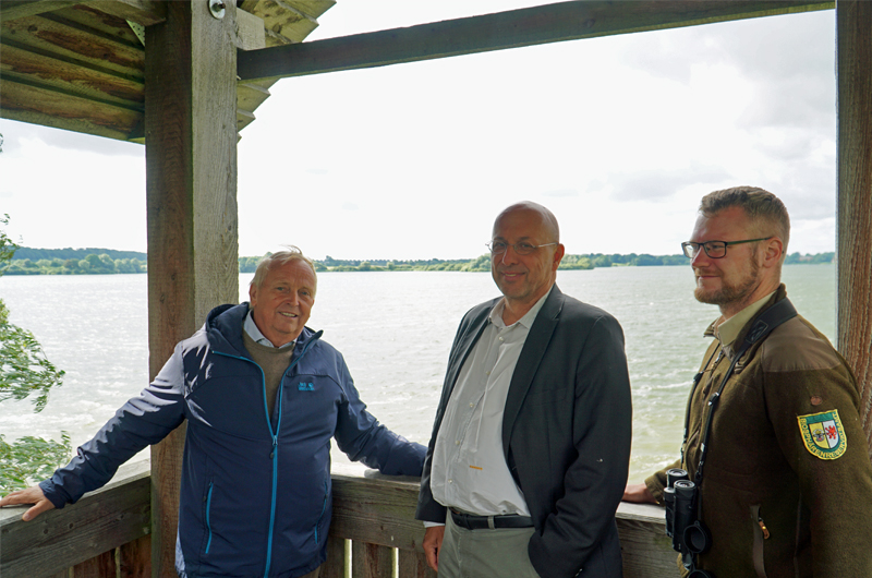 Sommertour Minister Dr. Backhaus